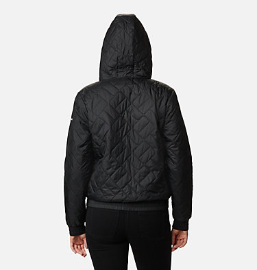 Sweet View isolierte Bomberjacke für Frauen Sweet View™ Insulated Bomber | 010 | S, Black, back
