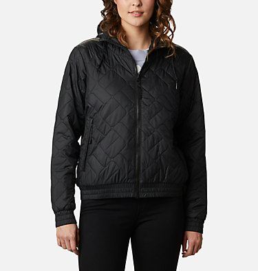 Sweet View isolierte Bomberjacke für Frauen Sweet View™ Insulated Bomber | 010 | S, Black, front