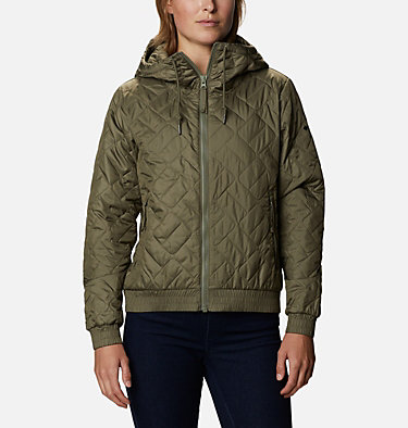 Women's Sweet View™ Insulated Bomber Sweet View™ Insulated Bomber | 618 | XL, Stone Green, front