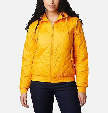 Women's Sweet View™ Insulated Bomber Sweet View™ Insulated Bomber | 618 | XL, Bright Marigold, front