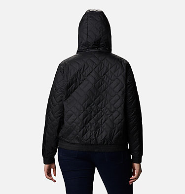 Women's Sweet View™ Insulated Bomber - Plus Size Sweet View™ Insulated Bomber | 772 | 2X, Black, back