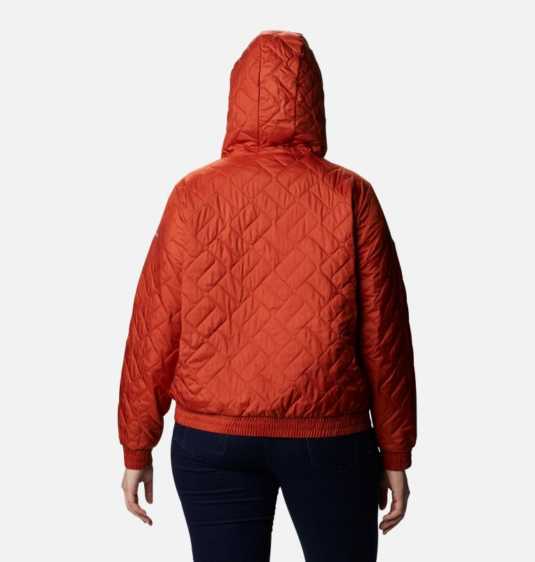 Women's Sweet View™ Insulated Bomber - Plus Size Women's Sweet View™ Insulated Bomber - Plus Size, back