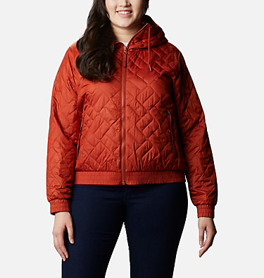Women's Sweet View™ Insulated Bomber - Plus Size Sweet View™ Insulated Bomber | 772 | 2X, Dark Sienna, front