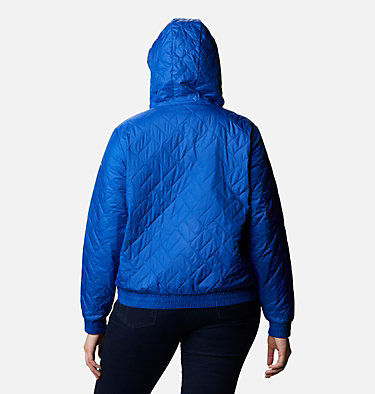 Women's Sweet View™ Insulated Bomber - Plus Size Sweet View™ Insulated Bomber | 772 | 1X, Lapis Blue, back