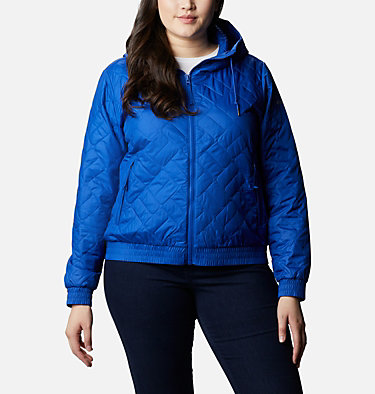Women's Sweet View™ Insulated Bomber - Plus Size Sweet View™ Insulated Bomber | 772 | 1X, Lapis Blue, front