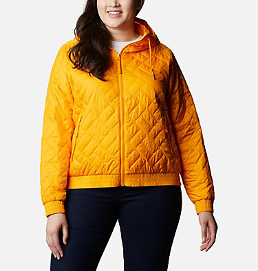 Women's Sweet View™ Insulated Bomber - Plus Size Sweet View™ Insulated Bomber | 772 | 1X, Bright Marigold, front