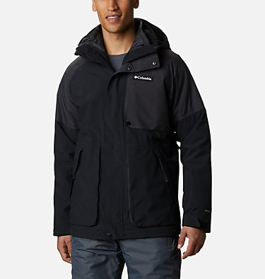 Men's Post Canyon™ Interchange Jacket Post Canyon™ IC Jacket | 432 | S, Black, Shark, front