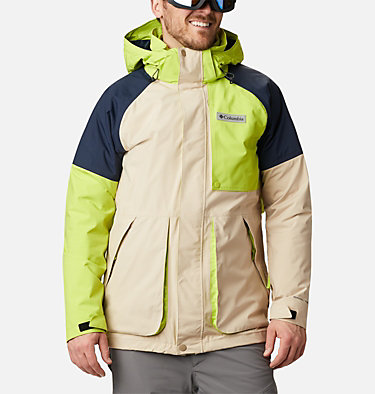 Men's Post Canyon™ Interchange Jacket Post Canyon™ IC Jacket | 432 | S, Ancient Fossil, Coll Navy, Brt Chrtse, front