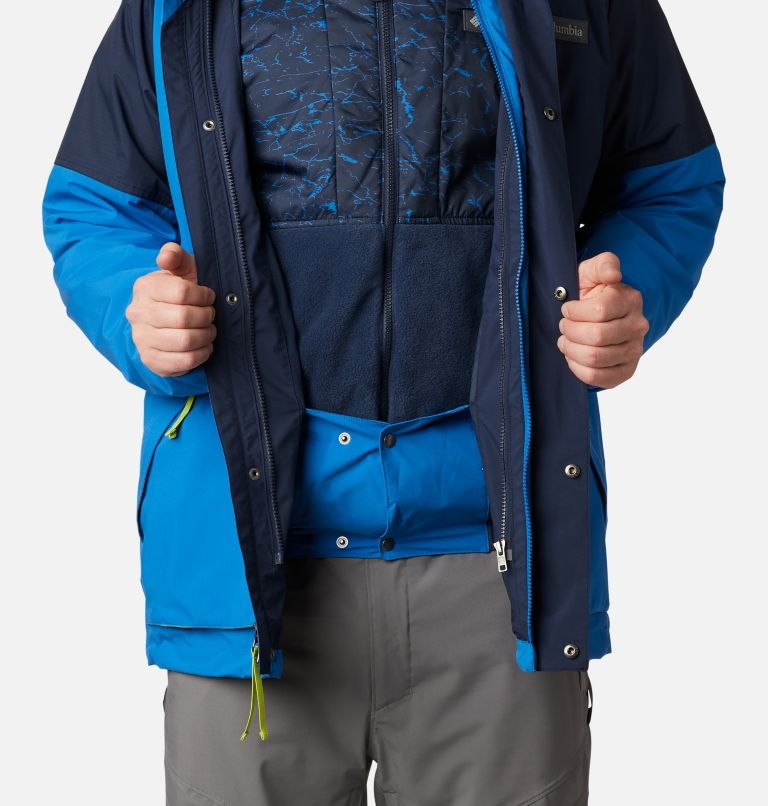 Post Canyon™ IC Jacket | 432 | XXL Men's Post Canyon™ Interchange Jacket, Bright Indigo, Collegiate Navy, a10