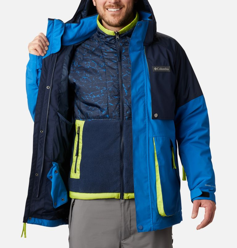 Post Canyon™ IC Jacket | 432 | XXL Men's Post Canyon™ Interchange Jacket, Bright Indigo, Collegiate Navy, a4