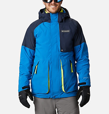Men's Post Canyon™ Interchange Jacket Post Canyon™ IC Jacket | 432 | S, Bright Indigo, Collegiate Navy, front