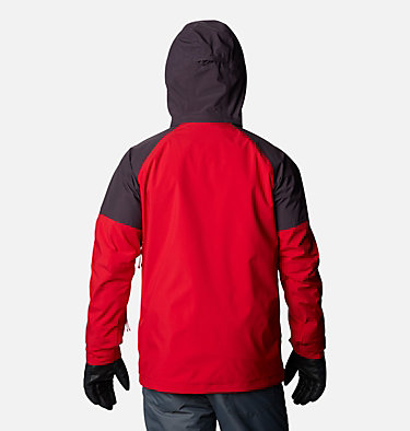 Men's Post Canyon™ Interchange Jacket Post Canyon™ IC Jacket | 432 | S, Mountain Red, Dark Purple, back