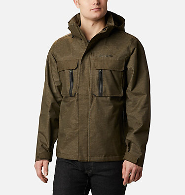 Men's Otira Pass™ Jacket Otira Pass™ Jacket | 010 | XL, Olive Green, Denim, front