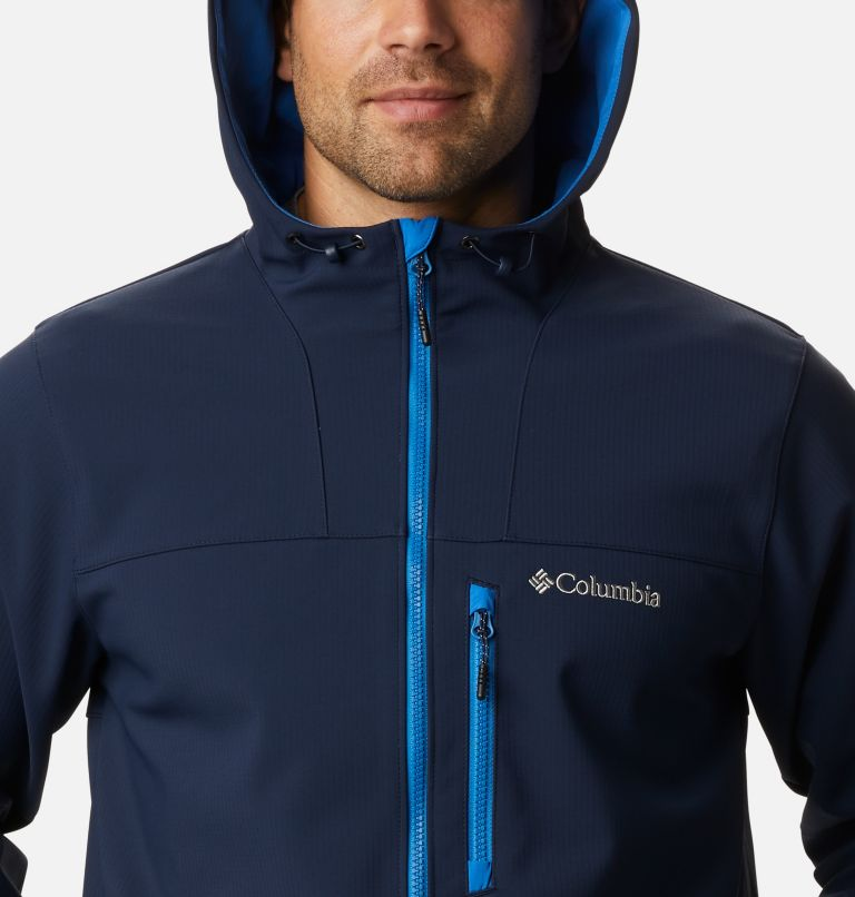 Men's Poplar Peak™ Hooded Softshell Jacket Men's Poplar Peak™ Hooded Softshell Jacket, a2