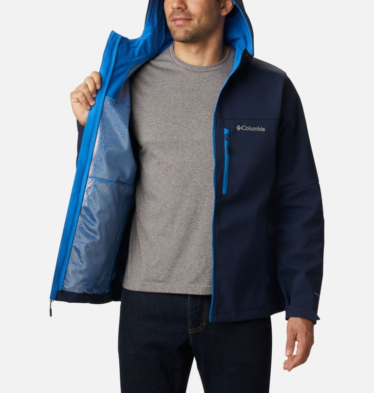Men's Poplar Peak™ Hooded Softshell Jacket Men's Poplar Peak™ Hooded Softshell Jacket, a3