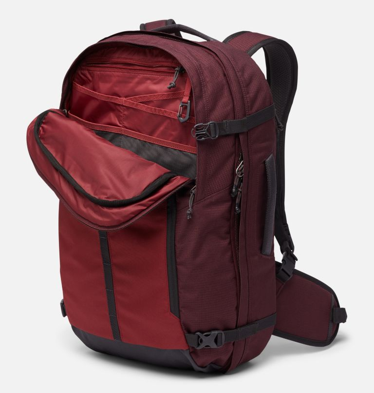 Mazama™ 34L Travel Backpack | 671 | O/S Mazama™ 34L Travel Backpack, Malbec, Marsala Red, a2