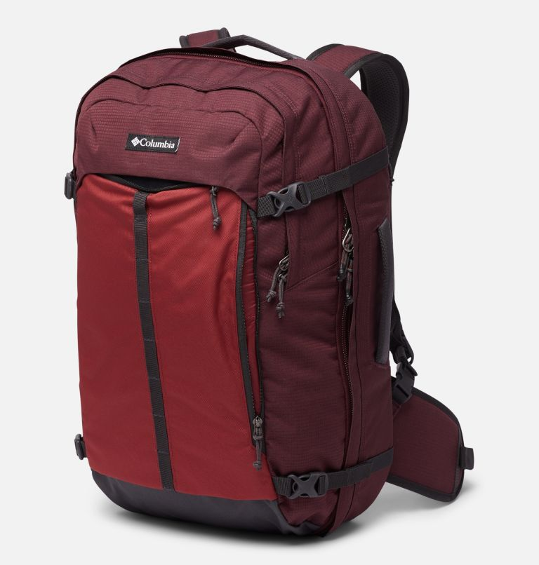 Mazama™ 34L Travel Backpack | 671 | O/S Mazama™ 34L Travel Backpack, Malbec, Marsala Red, a3