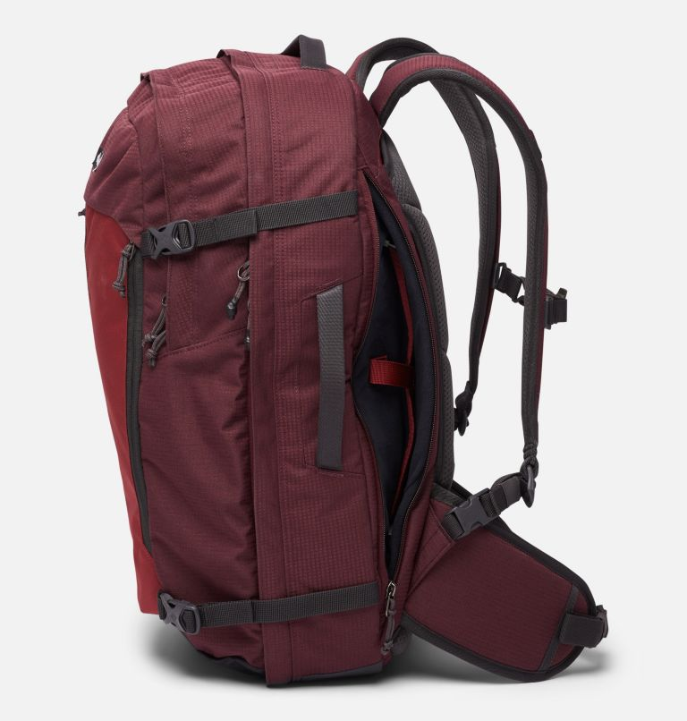 Mazama™ 34L Travel Backpack | 671 | O/S Mazama™ 34L Travel Backpack, Malbec, Marsala Red, a4