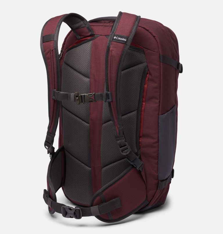 Mazama™ 34L Travel Backpack | 671 | O/S Mazama™ 34L Travel Backpack, Malbec, Marsala Red, back