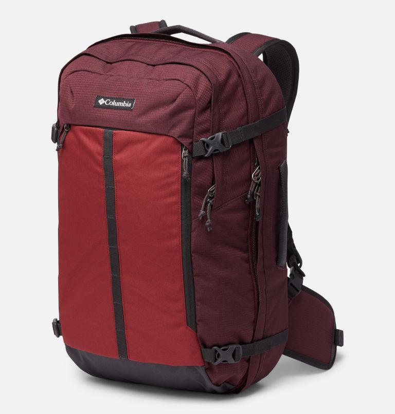 Mazama™ 34L Travel Backpack | 671 | O/S Mazama™ 34L Travel Backpack, Malbec, Marsala Red, front