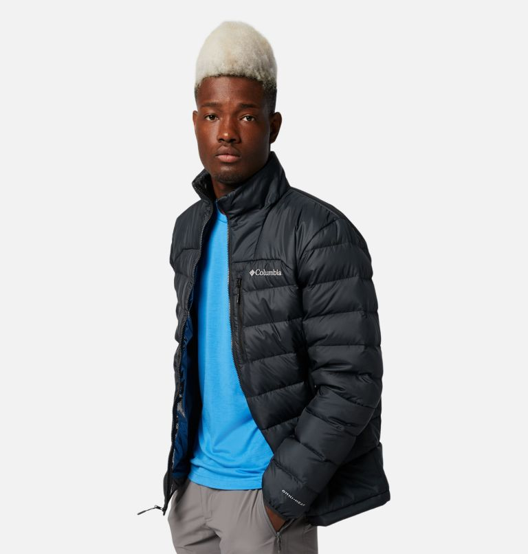 Autumn Park™ Down Jacket | 010 | M Men's Autumn Park™ Down Jacket, Black, a1