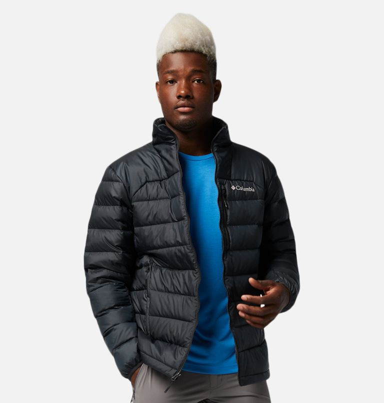 Autumn Park™ Down Jacket | 010 | S Men's Autumn Park™ Down Jacket, Black, front