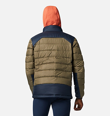 Men's Autumn Park™ Down Jacket Autumn Park™ Down Jacket | 010 | XXL, Stone Green, Collegiate Navy, back