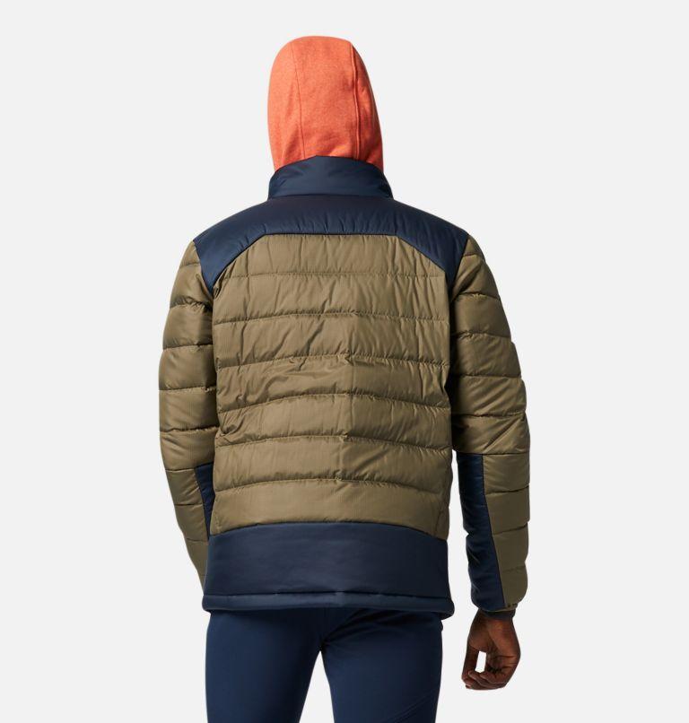 Autumn Park™ Down Jacket | 397 | XL Men's Autumn Park™ Down Jacket, Stone Green, Collegiate Navy, back