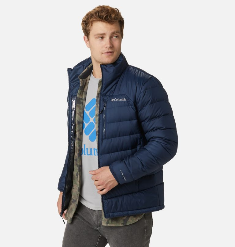 Autumn Park™ Down Jacket | 464 | S Men's Autumn Park™ Down Jacket, Collegiate Navy, a1
