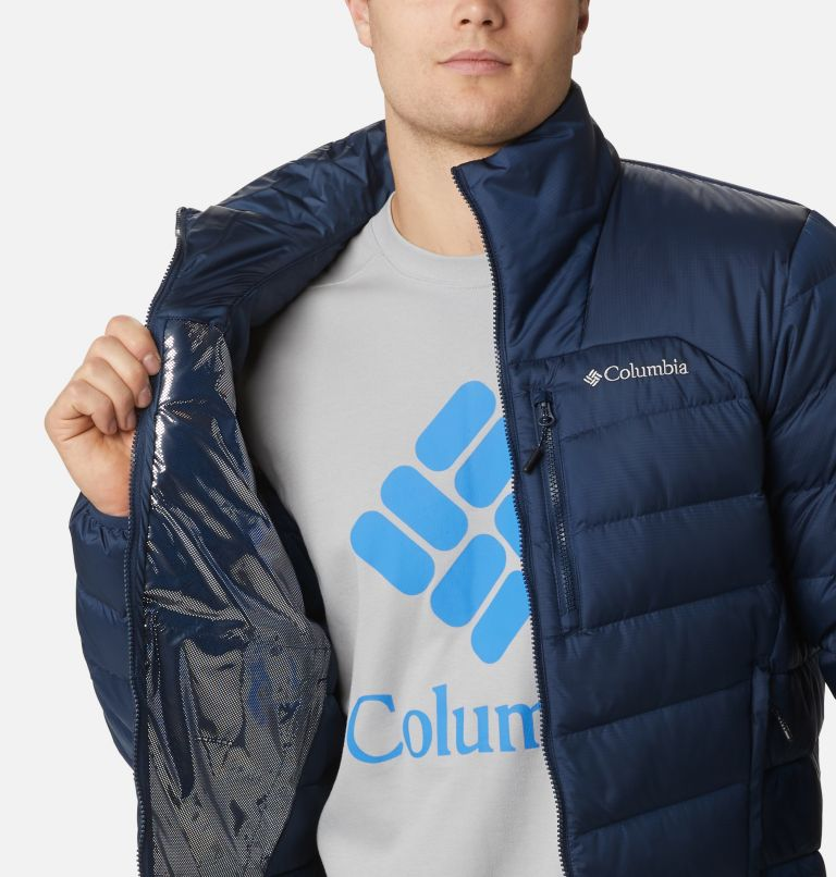 Autumn Park™ Down Jacket | 464 | S Men's Autumn Park™ Down Jacket, Collegiate Navy, a3