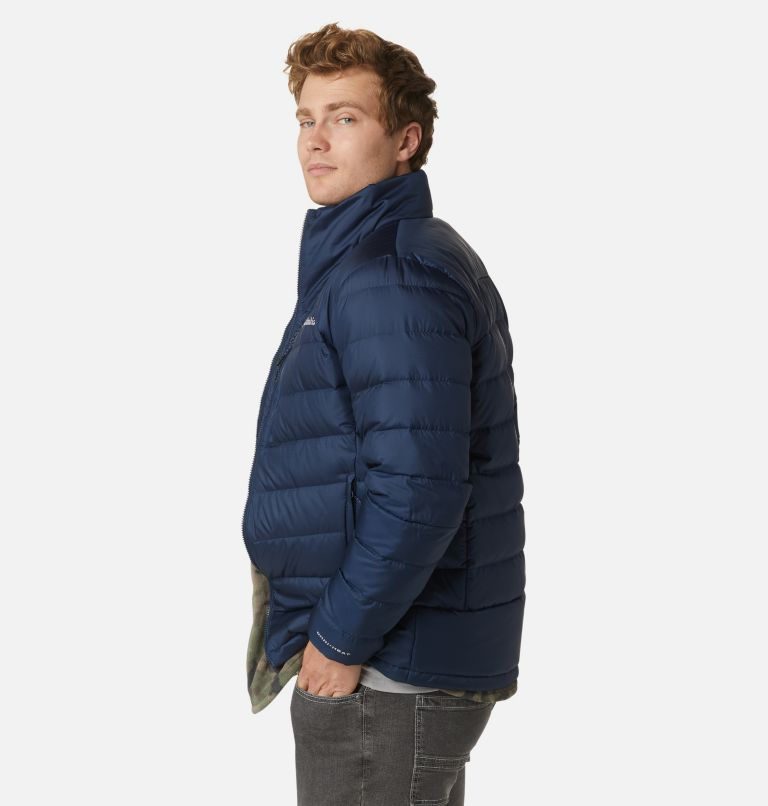 Autumn Park™ Down Jacket | 464 | S Men's Autumn Park™ Down Jacket, Collegiate Navy, a5
