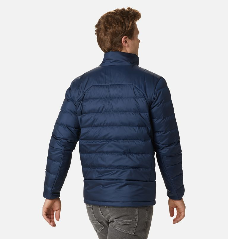 Autumn Park™ Down Jacket | 464 | S Men's Autumn Park™ Down Jacket, Collegiate Navy, back