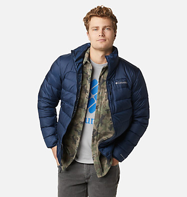 Men's Autumn Park™ Down Jacket Autumn Park™ Down Jacket | 010 | XXL, Collegiate Navy, front
