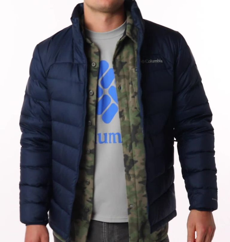 Autumn Park™ Down Jacket | 464 | S Men's Autumn Park™ Down Jacket, Collegiate Navy, video