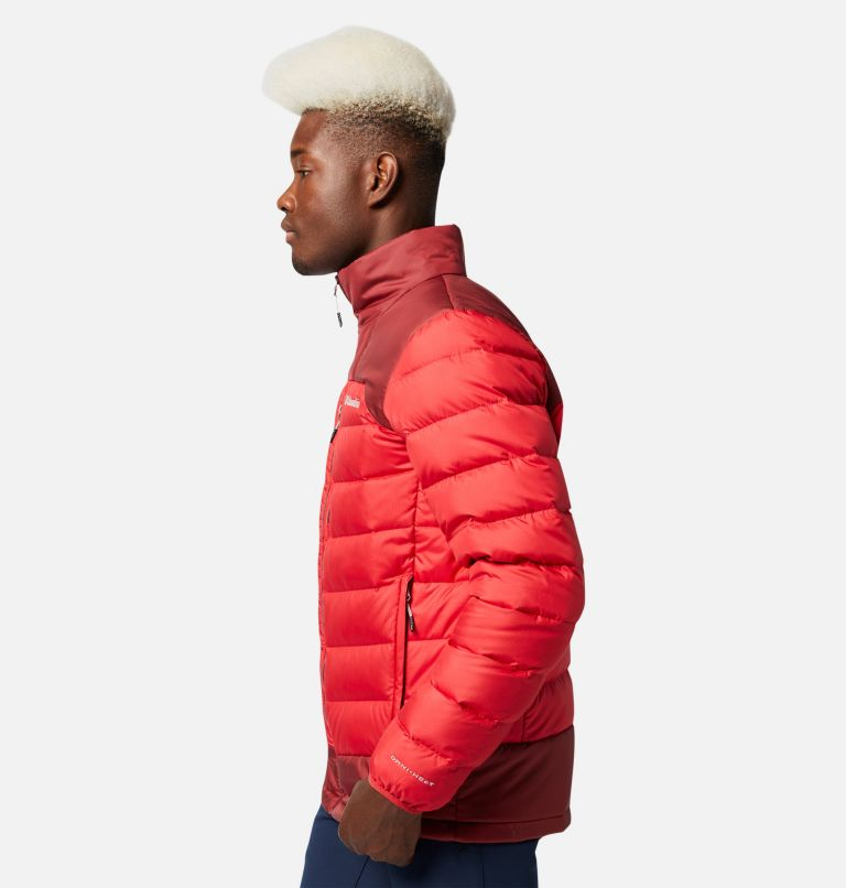 Autumn Park™ Down Jacket | 613 | L Men's Autumn Park™ Down Jacket, Mountain Red, Red Jasper, a1