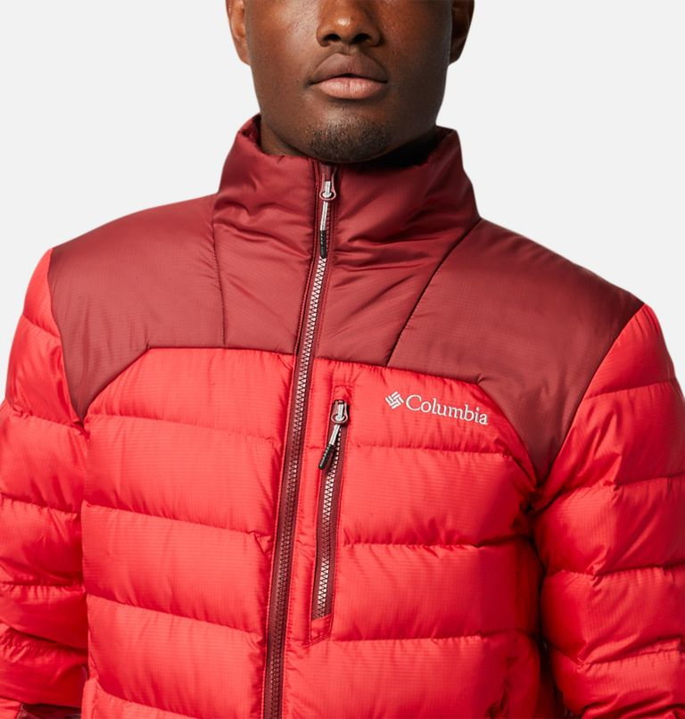 Autumn Park™ Down Jacket | 613 | XL Men's Autumn Park™ Down Jacket, Mountain Red, Red Jasper, a2