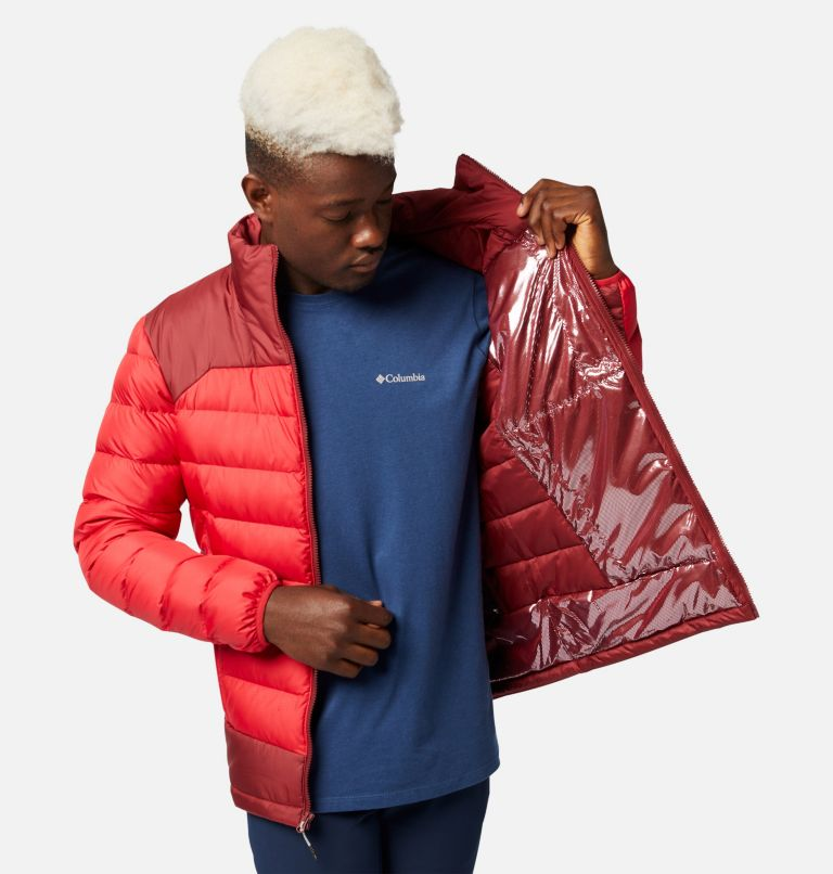 Autumn Park™ Down Jacket | 613 | L Men's Autumn Park™ Down Jacket, Mountain Red, Red Jasper, a3