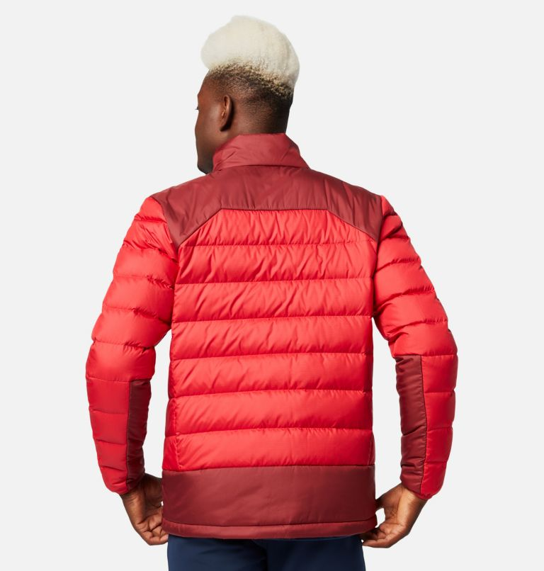 Autumn Park™ Down Jacket | 613 | L Men's Autumn Park™ Down Jacket, Mountain Red, Red Jasper, back
