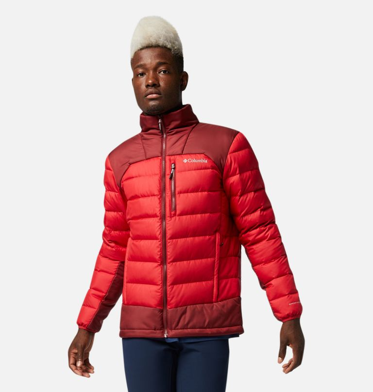 Autumn Park™ Down Jacket | 613 | XL Men's Autumn Park™ Down Jacket, Mountain Red, Red Jasper, front