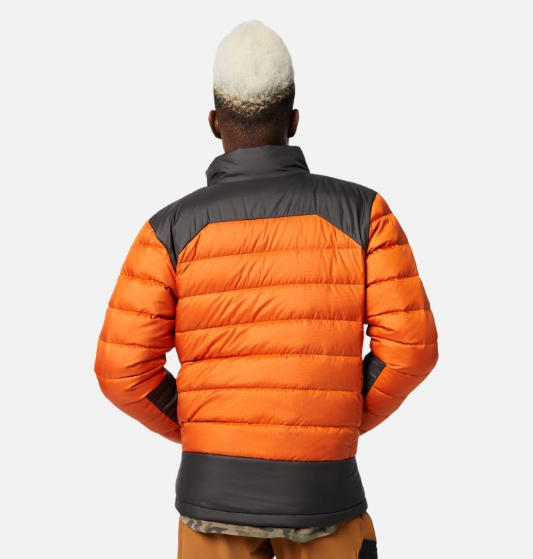 Autumn Park™ Down Jacket | 820 | M Men's Autumn Park™ Down Jacket, Harvester, Shark, back