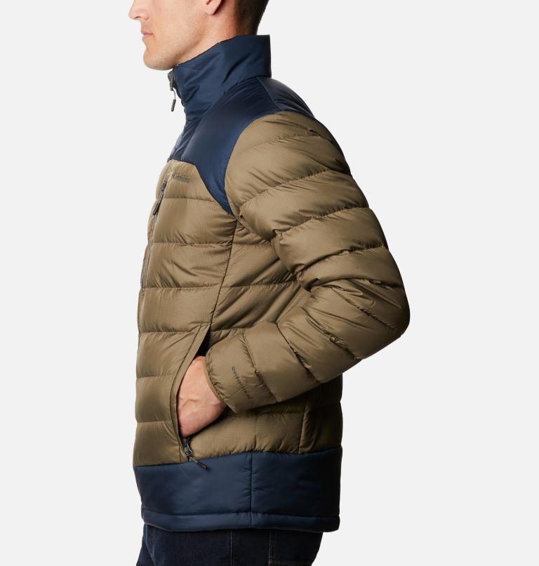 Autumn Park™ Down Jacket | 397 | XXL Doudoune Autumn Park homme, Stone Green, Collegiate Navy, a1
