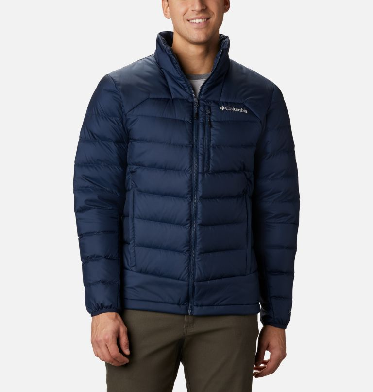 Autumn Park™ Down Jacket | 464 | L Men's Autumn Park Down Jacket, Collegiate Navy, front