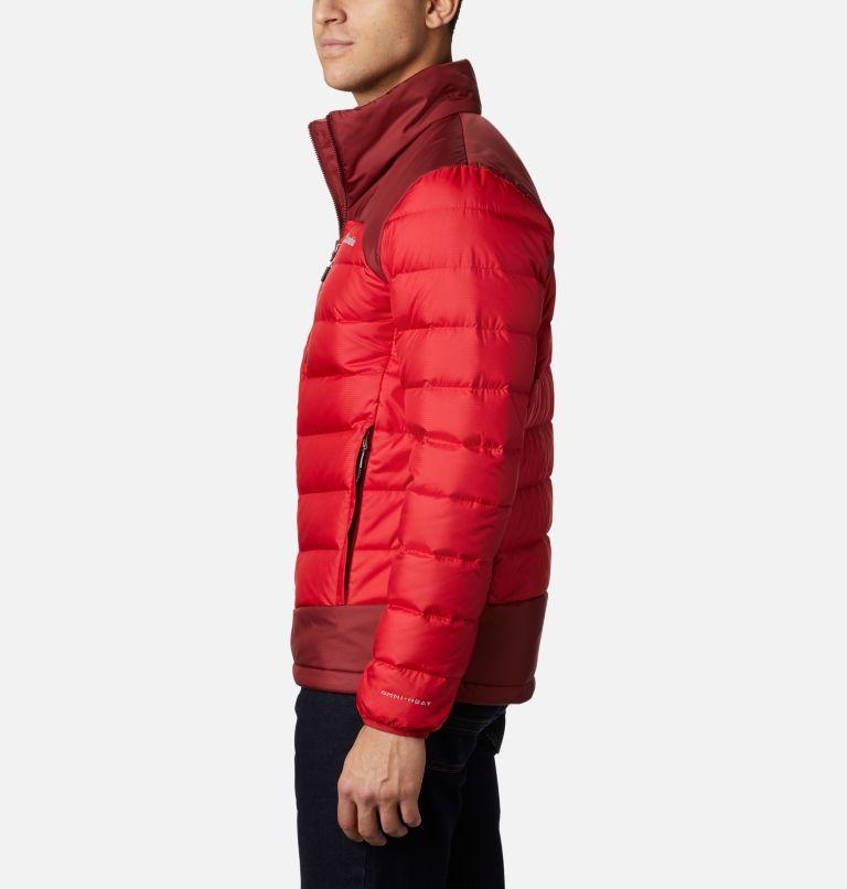 Autumn Park™ Down Jacket | 613 | S Men's Autumn Park Down Jacket, Mountain Red, Red Jasper, a1