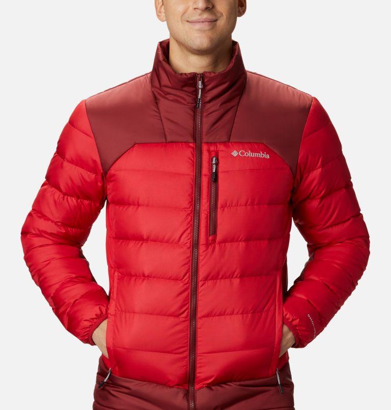 Autumn Park™ Down Jacket | 613 | S Men's Autumn Park Down Jacket, Mountain Red, Red Jasper, a2