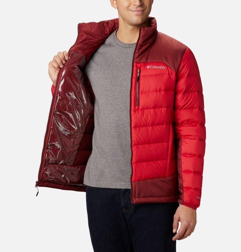 Autumn Park™ Down Jacket | 613 | S Men's Autumn Park Down Jacket, Mountain Red, Red Jasper, a3