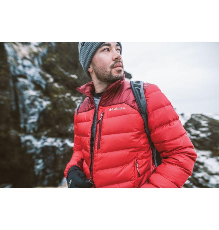 Autumn Park™ Down Jacket | 613 | S Men's Autumn Park Down Jacket, Mountain Red, Red Jasper, a4