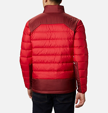 Giacca in piuma Autumn Park da uomo Autumn Park™ Down Jacket | 010 | S, Mountain Red, Red Jasper, back