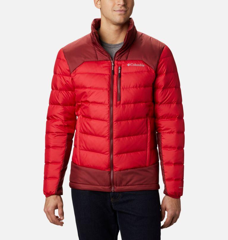 Autumn Park™ Down Jacket | 613 | S Men's Autumn Park Down Jacket, Mountain Red, Red Jasper, front