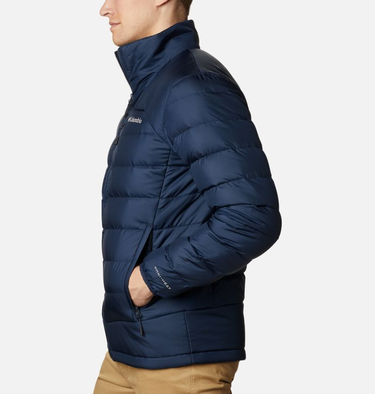Autumn Park™ Down Jacket | 464 | 4XT Men's Autumn Park™ Down Jacket - Tall, Collegiate Navy, a1