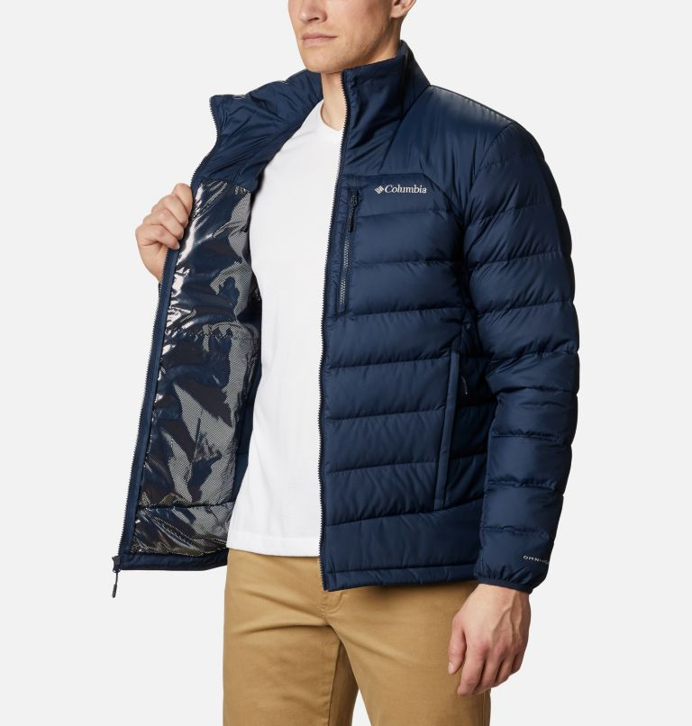 Autumn Park™ Down Jacket | 464 | 4XT Men's Autumn Park™ Down Jacket - Tall, Collegiate Navy, a3